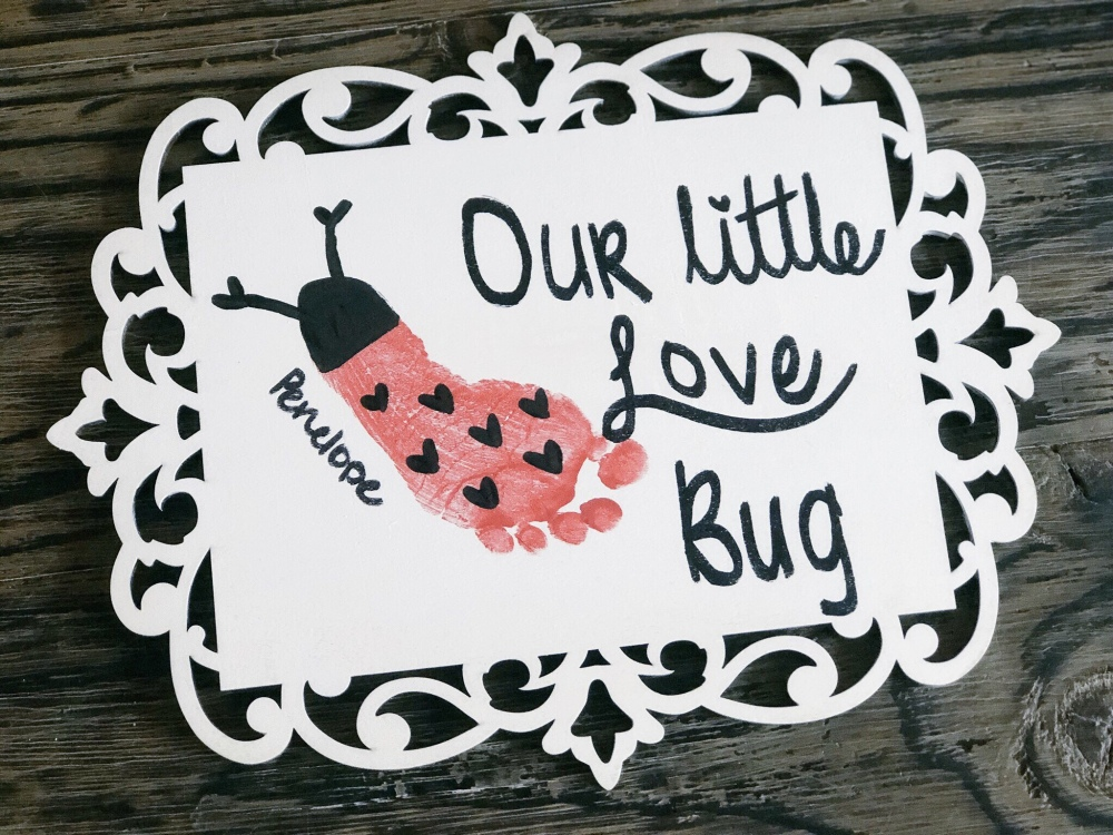 fashion 2018 shoes super quality Love Bug Baby Footprint Craft – MamasColdCoffeeBlog